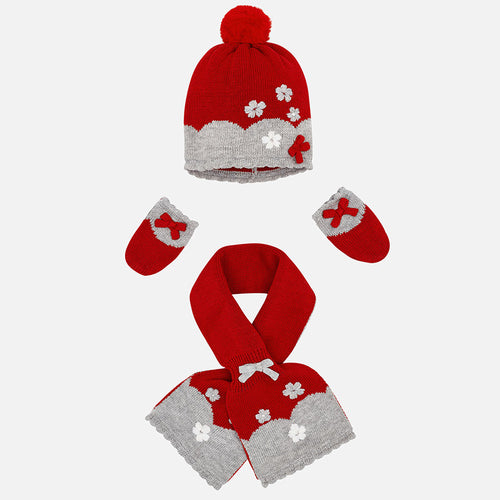 Hat, Scarf & Mittens Set - 9901-94