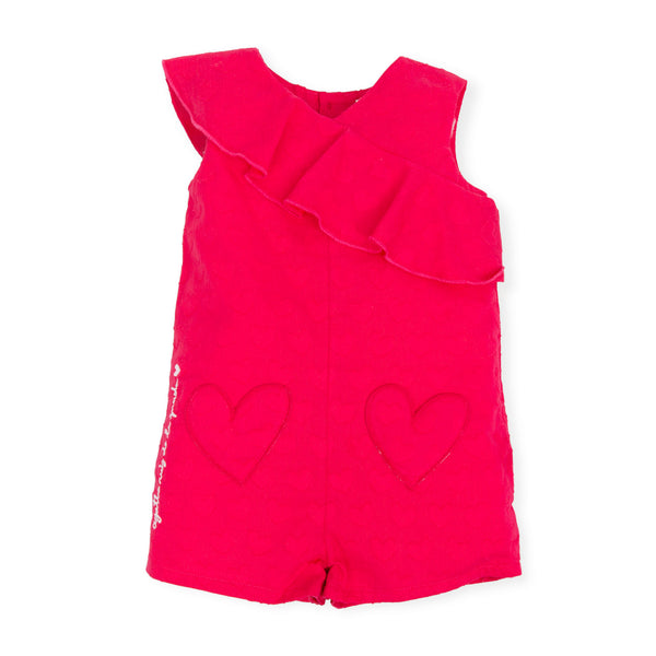 Fuchsia Summer Playsuit - 7423