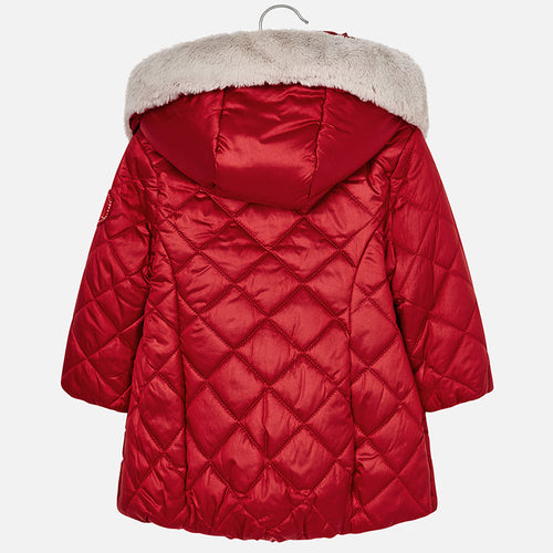 Padded Girls Coat - 4424-33