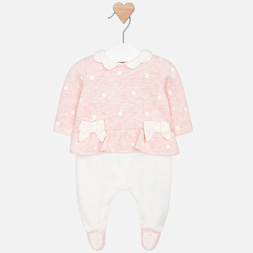 Pink Babygrow Outfit - 2610-17
