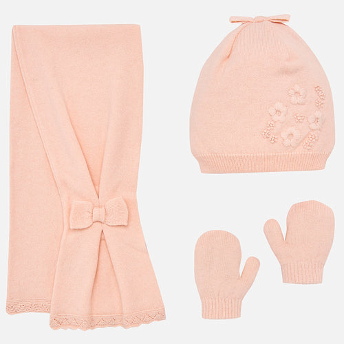 Hat, Scarf and Mittens Set - 10461-16