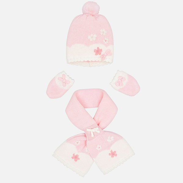 Hat, Scarf & Mittens Set - 9901-96