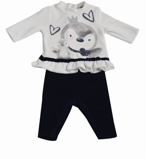 Penguin Velour Outfit - CO2448