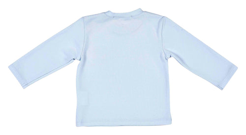 Pale Blue Long Sleeve Top - 352-8585-20