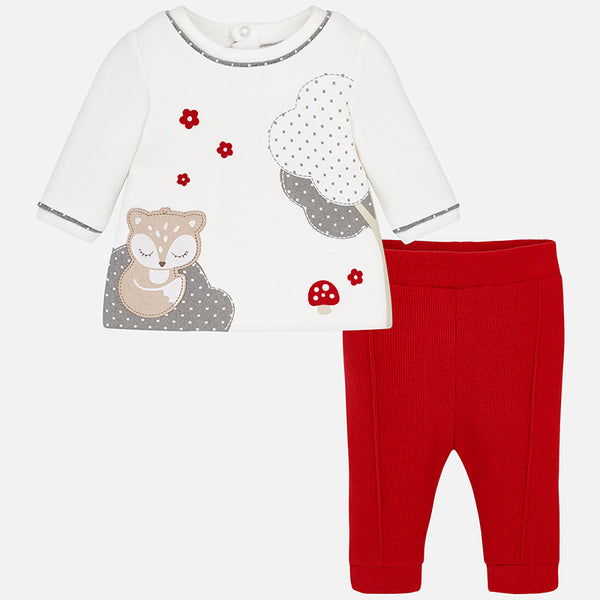 Foxy T-Shirt and Leggings Outfit - 2780-53