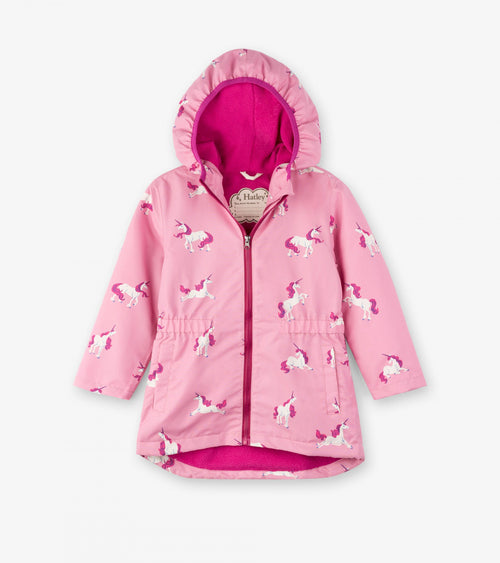 Majestic Unicorns Microfiber Rain Jacket