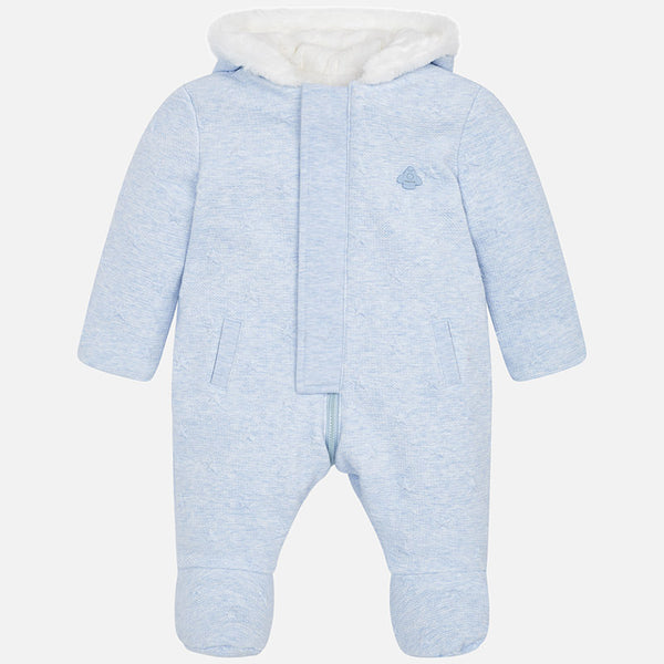 efb91bc10db3 Padded Pramsuit Sky Blue - 2616-74 – Lily and Roux