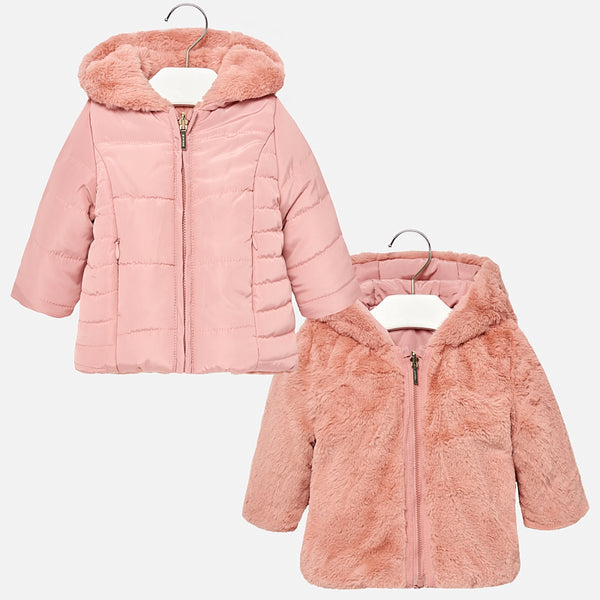 70a995f15 Reversible Faux Fur Coat - 2490-72 – Lily and Roux
