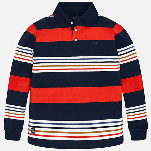 Striped Polo Shirt - 7100-60