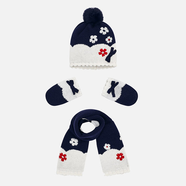 Hat, Scarf & Mittens Set - 9901-93