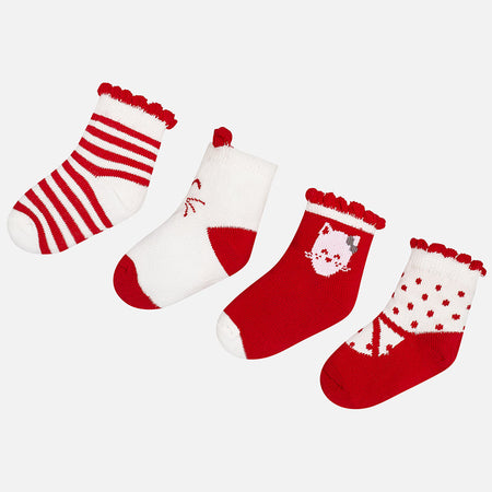 Pack of 4 Socks - 9896-82