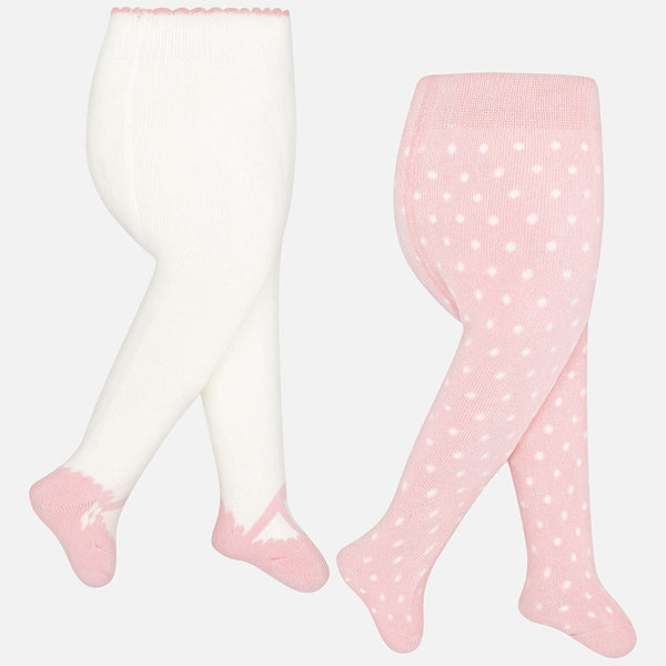 Pack of Two Winter Tights - 9888-62