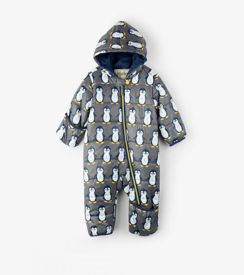 Dapper Penguins Baby Winter Bundler - Snowsuit