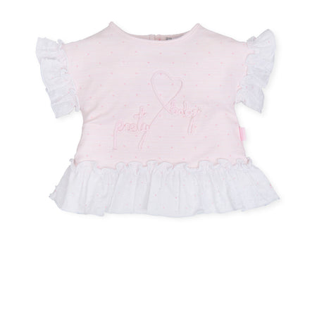 Girls Bow T-Shirt - 5120