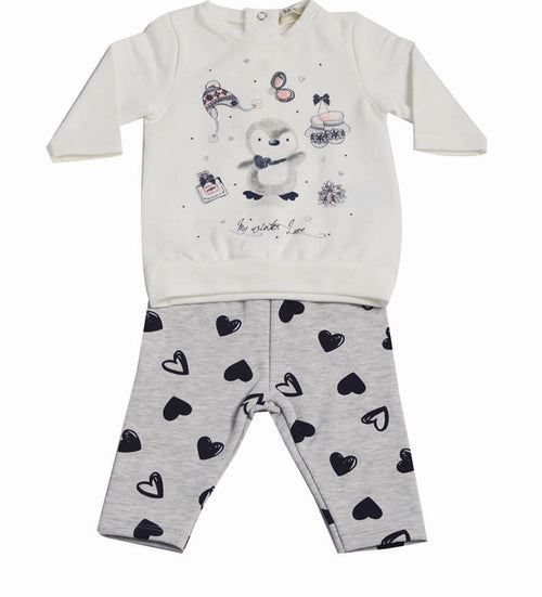 Penguin Tunic and Leggings Outfit - CO2449