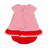 Love Heart Dress and Bloomers Set - 7790