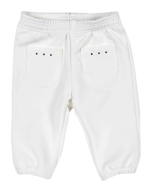 White Soft Jogging Bottoms - 410-8773-10