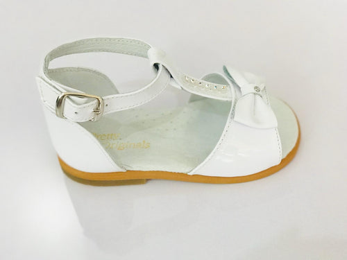 White Sequin Sandals - UP484E