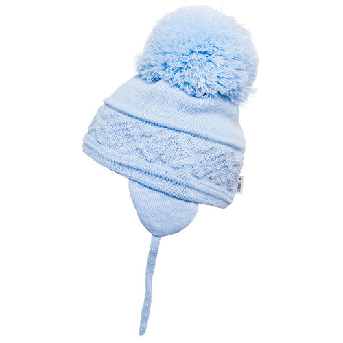 Satila Malva Pom Pom Hat - Blue