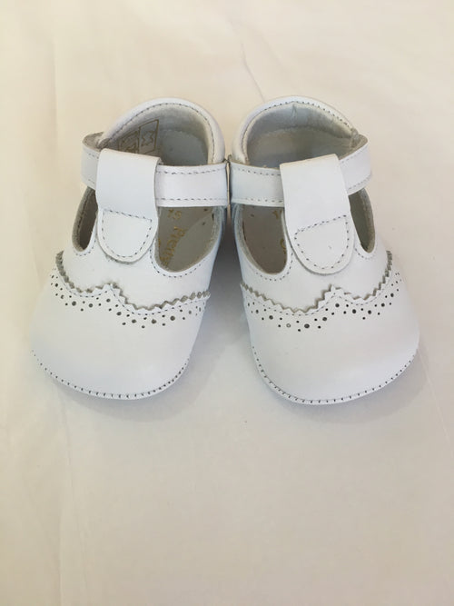 White Pram Shoes - UE03284