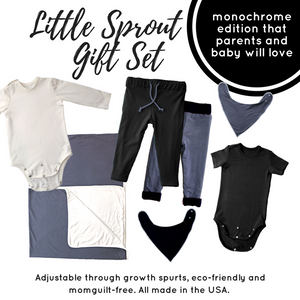 gift set, monochrome, SproutFit