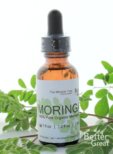 Pure Moringa Oil | 1 oz Bottle