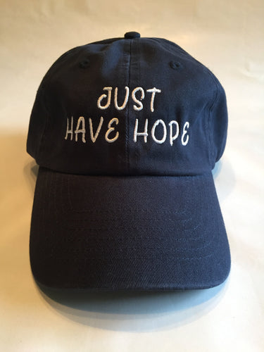 Just Have Hope Dad Hat - Navy Blue