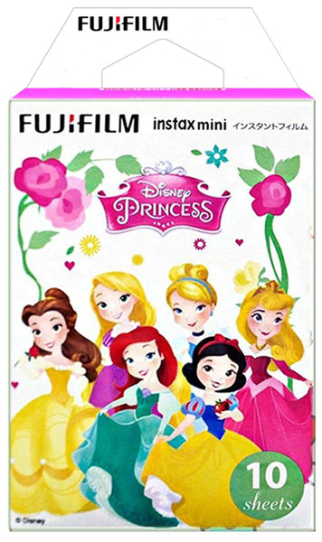 Fujifilm Instax Mini Instant Film (10 sheets, Disney Princess)