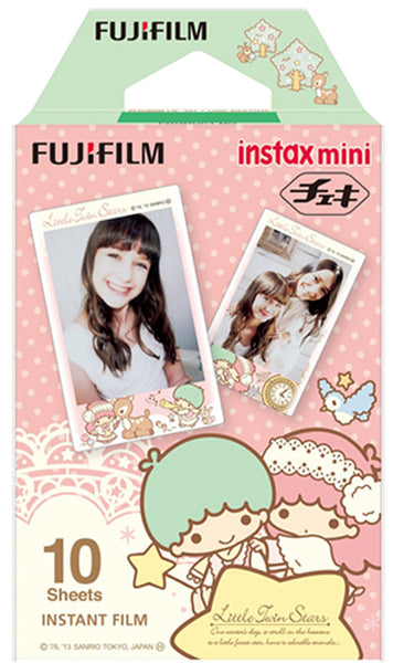 Fujifilm Instax Mini Film For Fuji Instant Film Camera - Little Twin Stars 10 Sheet