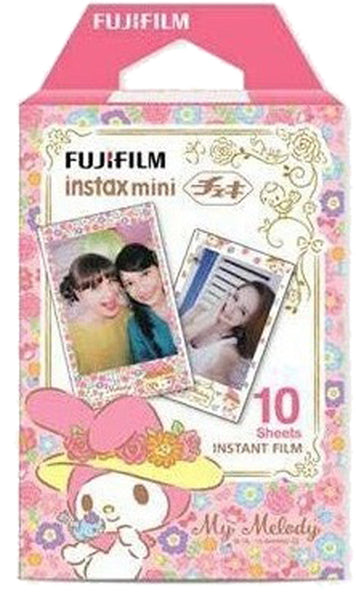 Fujifilm Instax Mini Instant Film, 10 Sheets, My Melody Limited ver