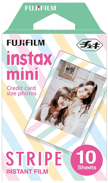Fujifilm Instax Mini Film Stripe 10 Sheet