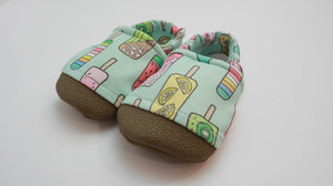 6-12m w. TG - Fruitscicle Swim Shoes