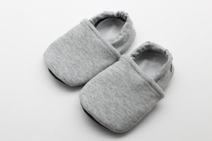 Heather Gray Stretchy Solid Everyday Moccasins Preorder | 12.30.2020