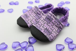 Macie Kittie Cats Everyday Moccasins Preorder | Macie Grace Foundation Fundraiser