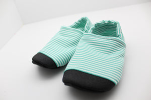 Teal Seersucker Swim Shoes Preorder - 4.1.2021