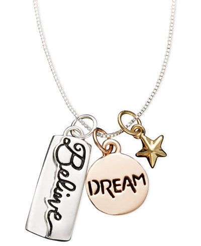 Believe Dream Star Necklace