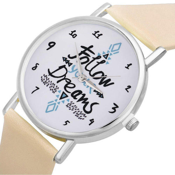 Follow Your Dreams Quartz Watches