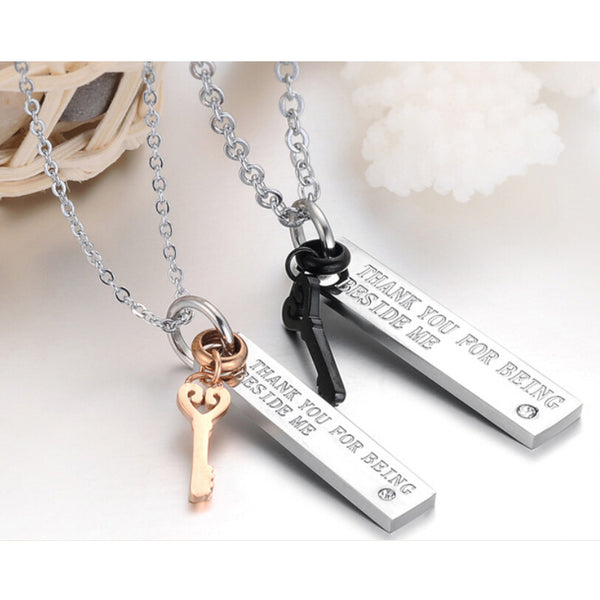 Gratitude Couples Necklace Set