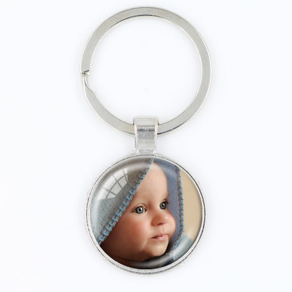 Your Baby Photo Keychain