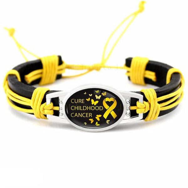 Childhood Cancer Awareness Bracelets