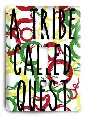 A Tribe Called Quest - Abstract Light Switch - Colorful Switches
