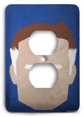 Abstract Mr Fantastic Outlet Cover - Colorful Switches