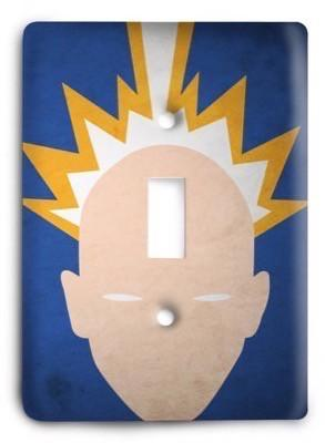 Abstract Professor X Light Switch Cover - Colorful Switches