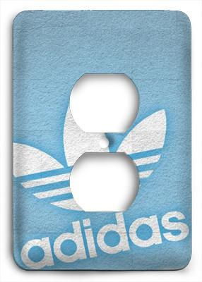 Adidas Blue Outlet Cover - Colorful Switches