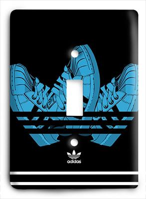 Adidas Up Shoes Light Switch - Colorful Switches