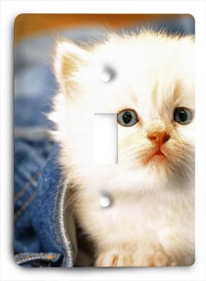 Adorable Kitten Light Switch - Colorful Switches