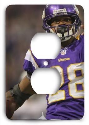 Adrian Peterson v1 Outlet Cover - Colorful Switches
