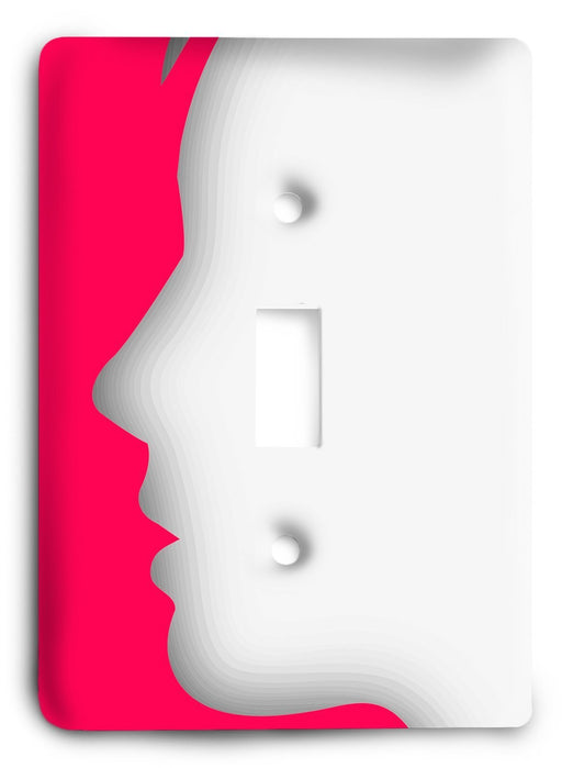 Always A Lady To Me Light Switch Cover - Colorful Switches