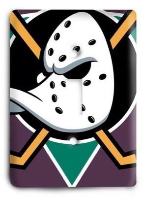 Anaheim Ducks NHL 1v Light Switch Cover - Colorful Switches
