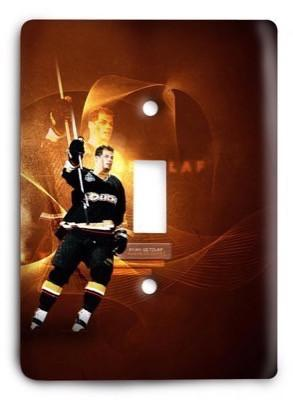 Anaheim Ducks NHL 6 Light Switch Cover - Colorful Switches